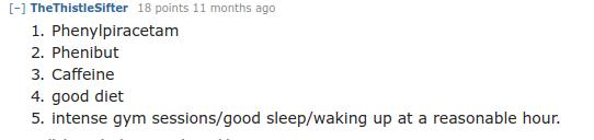 Best Nootropics According To Reddit Gonootropics