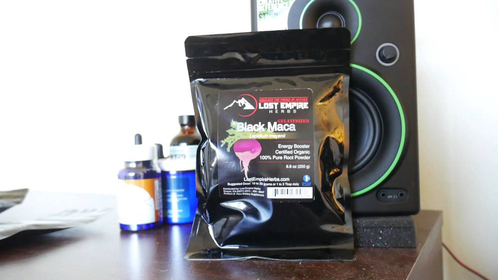 Lost Empire Black Maca