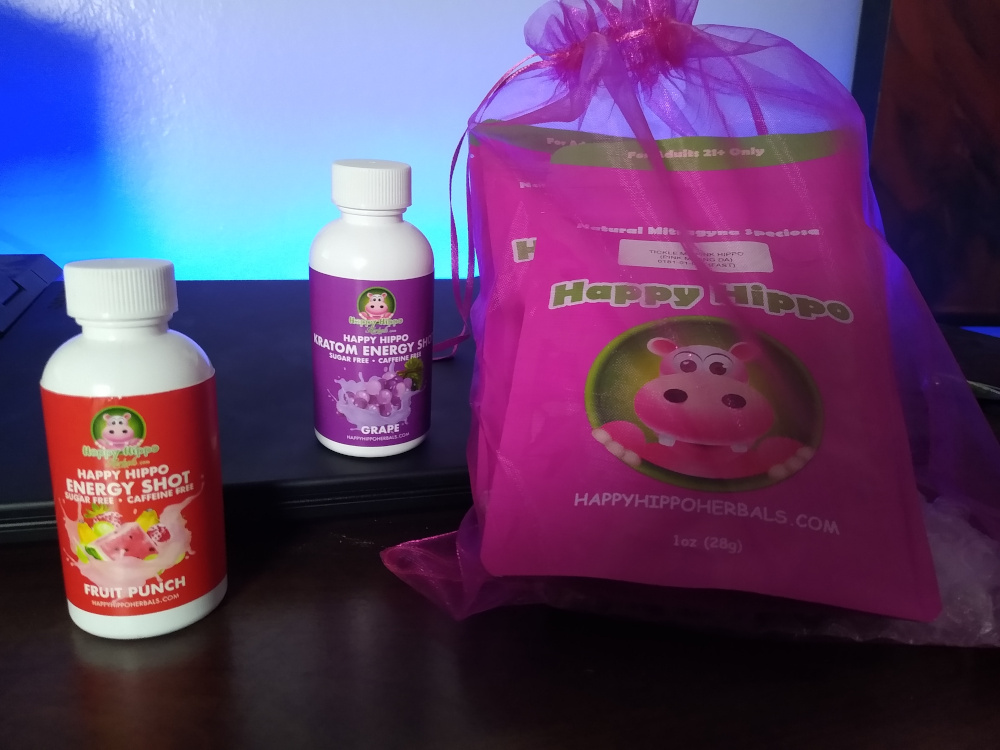 Happy Hippo Herbals Kratom Haul And Review